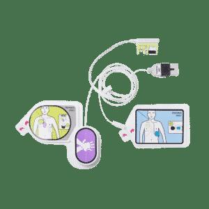 CPR Uni-Padz træningsstødpads til skarp ZOLL AED 3 hjertestarter