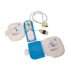 CPR-D Padz træningsstødpads med simulatorstik. Gel pads
