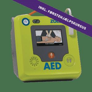 ZOLL AED 3 Semi + 4 timers førstehjælpskursus
