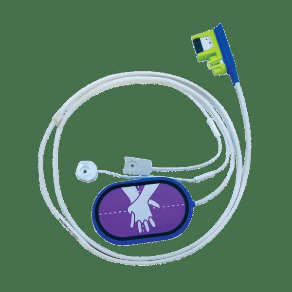 Ledning til CPR Uni-padz træningselektrode