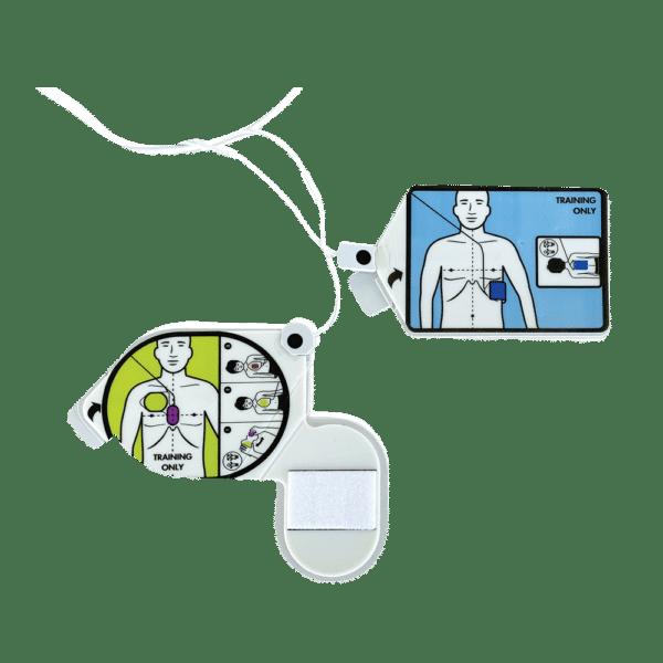 CPR Uni-padz træningselektrode med klæbegel