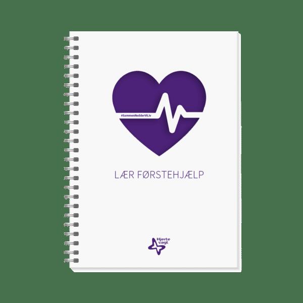 Plakat: Hjertevagt Førstehjælpsbog - Lær førstehjælp