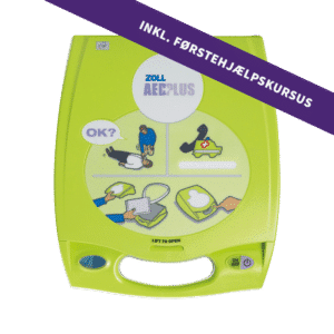 ZOLL AED Plus hjertestater inkl. 4-timers førstehjælpskursus