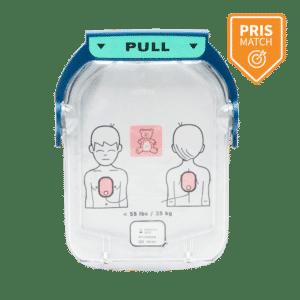 Børne elektrode til Philips HeartStart HS1 hjertestarter