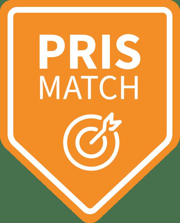 Prismatch - Hjertevagt matcher laveste onlinepris